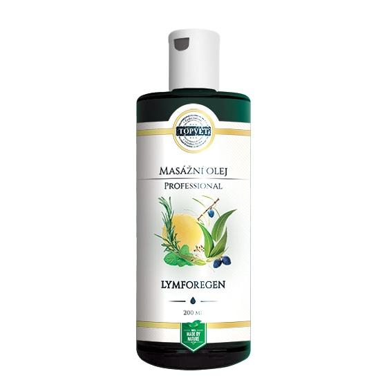 TOPVET Lymforegen - masážní olej Topvet