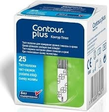Ascensia Diabetes Care Testovací proužky CONTOUR™Plus 25ks