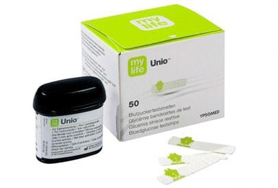 Bionime GmbH Testovací proužky ke glukometru mylife Unio
