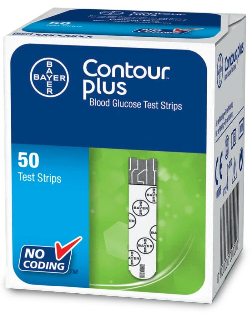 Ascensia Diabetes Care Testovací proužky CONTOUR™Plus 50ks