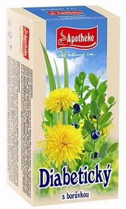 MEDIATE S.R.O. Čaj diabetický s borůvkou  20x1,5g