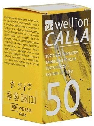 Wellion Testovací proužky Wellion® CALLA